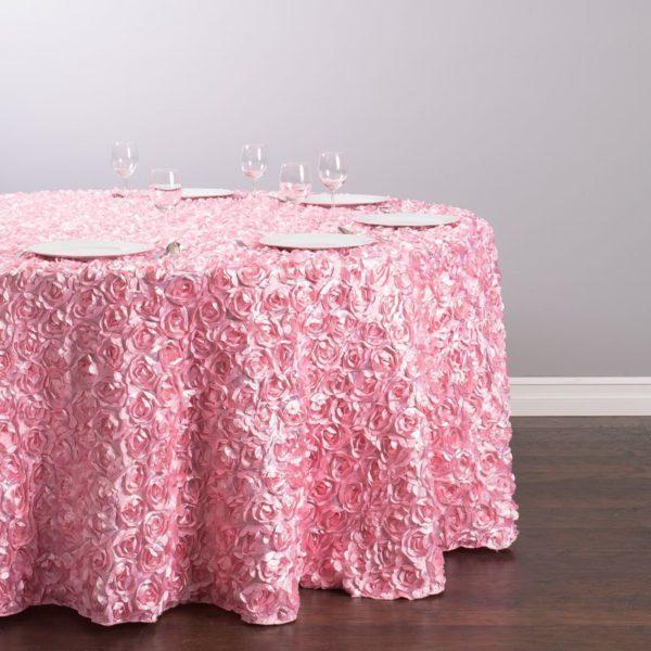 rosa satin rosa