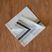 servilleta calcuta bistro negro 3