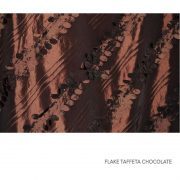 FLAKE TAFFETA CHOCOLATE