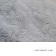 FLOCK DAMASCO IVORY