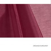 ORGANZA BURGUNDY