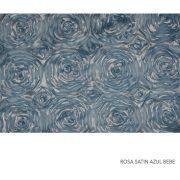 ROSA SATIN AZUL BEBE