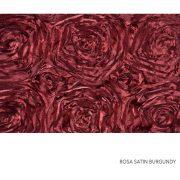 ROSA SATIN BURGUNDY
