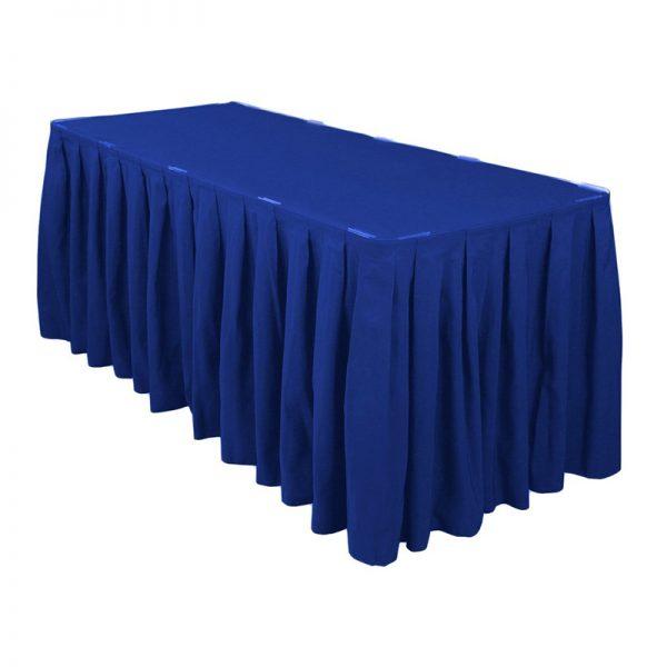 bambalina azul tafetan