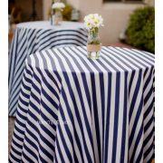 mantel rayas azul marino periquera