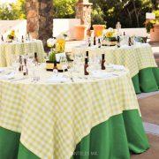 picnic cubre amarillo