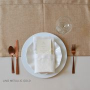 LINO VINTAGE METALLIC GOLD CAMINO