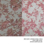 garden rose and ivory gama doble